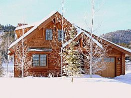 Cabins and Home Vacation Rentals in Victor Idaho