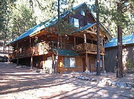 Cabins and Home Vacation Rentals in Pine & Featherville Idaho