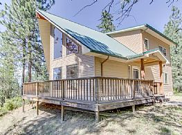 Cabins and Home Vacation Rentals in Post Falls Idaho