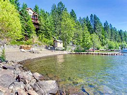 Cabins and Home Vacation Rentals in Coeur d'Alene Idaho