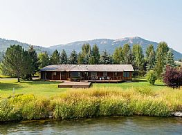 Cabins and Home Vacation Rentals in Swan Valley Idaho