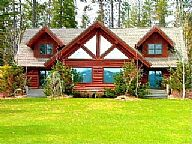 Oden Bay Log Home vacation rental property