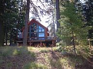 The  Red Fir Lakefront Cabin vacation rental property