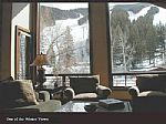 Living Room View of Mountain
