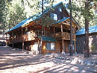 The Majestic Cabin-Featherville vacation rental property