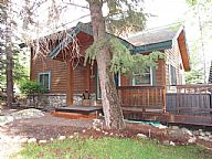 Cabin on the Green vacation rental property