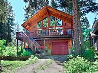 Kick Back Cabin vacation rental property