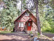 Huckleberry Riverfront Cabin vacation rental property