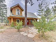 Cascade Lakeview Log Cabin vacation rental property