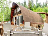 Cozy Hayden Idaho Lake Cabin vacation rental property
