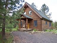 Chad Loop Log Cabin vacation rental property