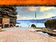 Hayden Lakeshore Lodge and Guest Cabin vacation rental property
