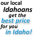 Guaranteed best prices in Blanchard Idaho