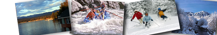 Plan your Idaho boat, ski, rafting, golf vacation here