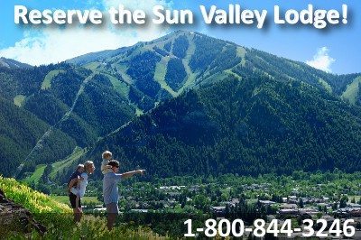 Reserve the Sun Valley Lodge and Inn.