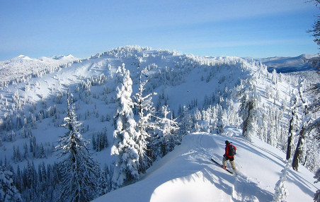 Sergeants Mountain, Brundage Cat Ski Program