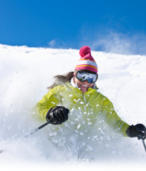 Ski in and out lodging at Idaho ski resorts