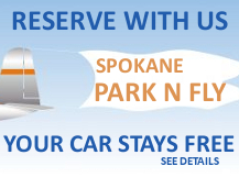 Ramada Spokane Airport Park and Fly Special.