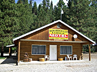 Sourdough Lodge vacation rental property
