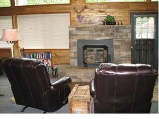 Fireplace/Sitting Area