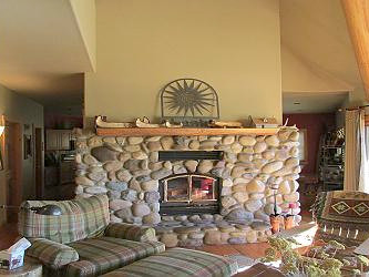 Living Room - Fireplace