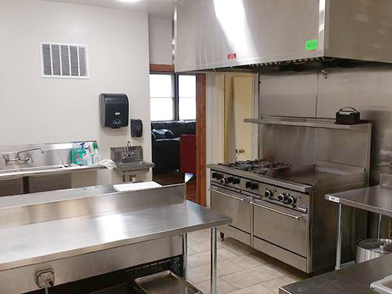 Commercial Kitchen (Lodge)