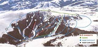 Pomerelle Trail Map