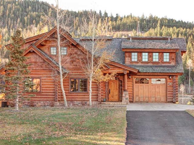 Cushman cabin teton springs warm creek 33 driggs for Teton cabin rentals