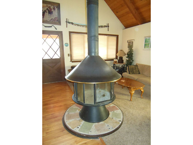 Woodstove - Living Room