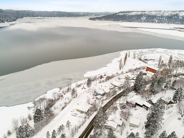 Picture of the Morning Ridge on Lake Coeur d Alene in Coeur d Alene, Idaho